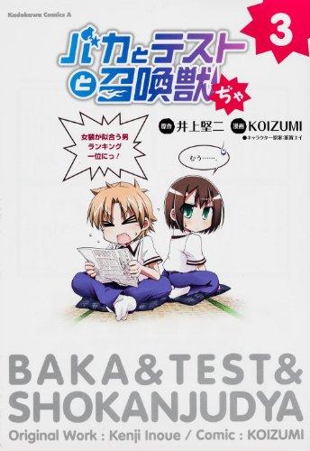 バカとテストと召喚獣ぢゃ -3 (カドカワコミックス・エース)の詳細を見る