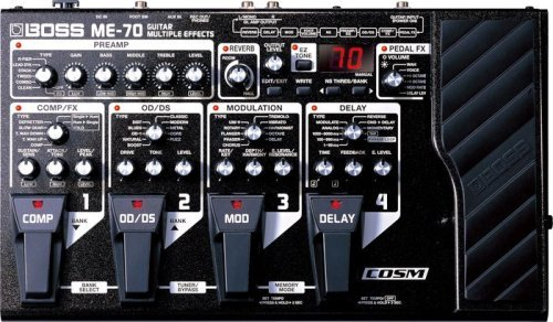 BOSS Guitar Multiple Effects ME-70
