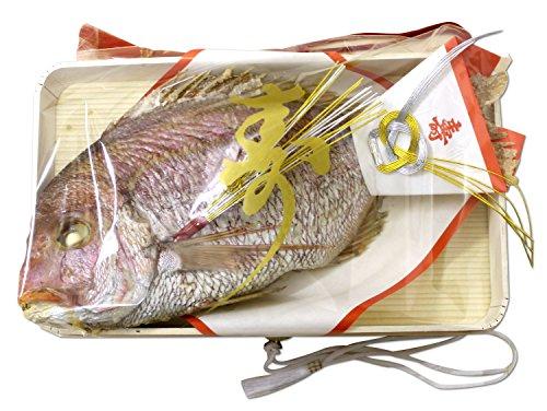 御祝用 お食い初め 敬老の日 天然鯛の塩焼き 国産 250g (築地直送)タイ 長寿祝い 鯛 日時指定可 メッセージ可【祝鯛250g】
