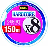 DUEL(デュエル) HARDCORE X8(ハードコア エックスエイト) 150m