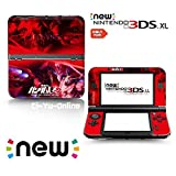 Ci-Yu-Online VINYL SKIN [new 3DS XL] - Mobile Suit Gundam Unicorn UC #1 Sinanju Red - Limited Edition STICKER DECAL COVER for NEW Nintendo 3DS XL / LL Console System by Ci-Yu-Online [並行輸入品]
