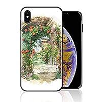 iPhone 11 pro MAX ケース 町 景色 カントリー 風情 携帯ケース スマホ用 携帯カバー アイフォンカバー 超耐久 軽量 超薄型 擦り傷防止 全面保護 全機種対応 ソフトケース シリコン TPU