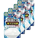【まとめ買い】液体ブルーレットおくだけ除菌EX トイレタンク芳香洗浄剤 詰め替え用 スーパーアクアソープの香り 70ml×4個