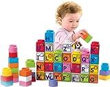 フィッシャープライスLittle People Buildersスタック' n Learn Alphabet Blocks