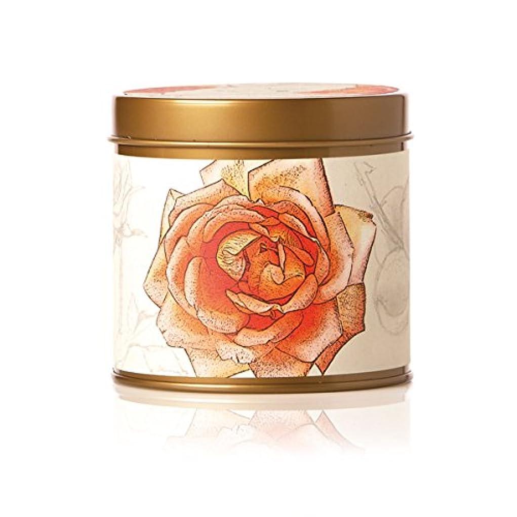 メンダシティ洞察力のある差別化するロージーリングス ティンキャンドル アプリコット&ローズ ROSY RINGS Signature Tin Apricot Rose