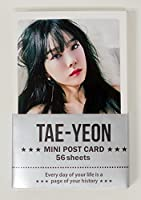 TAEYEON GIRL'S GENERATION - ミニポストカード56枚セット MINI POSTCARD PHOTOCARD SET 56pcs [韓国製]