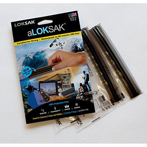 (ロックサック) LOKSAK aLOKSAK 防水マルチケース(2枚入) Sサイズ ALOKD2-6X6