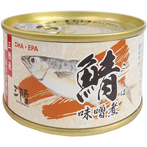 気仙沼ほてい さば味噌煮 180g