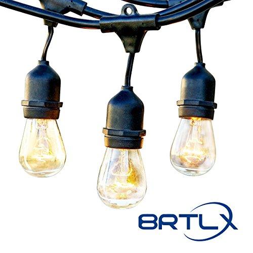 BRTLX ストリングライト 防雨型 15m E26 S14...