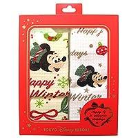 ディズニー クリスマス 2016 布巾 ふきん 2枚 セット (クラシカル) ミッキー マウス 台布巾 お 手拭き (東京 ディズニーリゾート限定 )