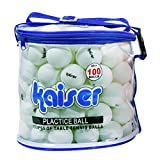 カイザー(kaiser) 卓球 ボール 100P セット KW-252 ケース付 レジャー ファミリースポーツ