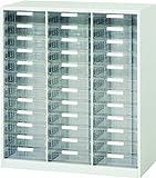 ダイシン工業 オフィス 収納庫 パンフレット収納 深型トレー スチール製 B4サイズ 12段 V940-11PDB