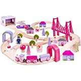Bigjigs Rail BJT023 Fairy Town Train Set by Bigjigs Toys [並行輸入品]