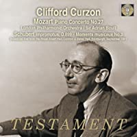 Mozart: Piano Concerto No.27; Schubert: Impromptus by Clifford Curzon (2013-06-11)