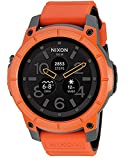 (ニクソン)Nixon 腕時計 メンズ Mission Smartwatch (Color: Orange) GPS搭載 活動量計 スマートウォッチ 心拍計 高度計搭載 [並行輸入品]gellmoll