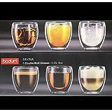【正規品】 BODUM ボダム BODUM CANTEEN ダブルウォールグラス 250ml (6個セット) 電子レンジOK 断熱 保温 保冷 タンブラー パヴィーナ4558