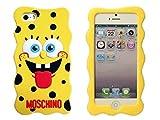 iPhone7ケース 【MOSCHINO】 モスキーノスポンジボブ (並行輸入品)
