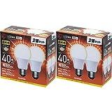 【2個×2個セット】LED電球 E26 広配光タイプ 40W形相当 電球色 LDA5L-G-4T42P LDA5L-G-4T42P