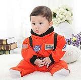 めざせ 宇宙飛行士 ベビー ロンパース スペースパイロット なりきり ハロウィン 衣装