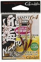 がまかつ(Gamakatsu) アシストフック アシスト64 近海ミディアム 7/0号 3本 67675