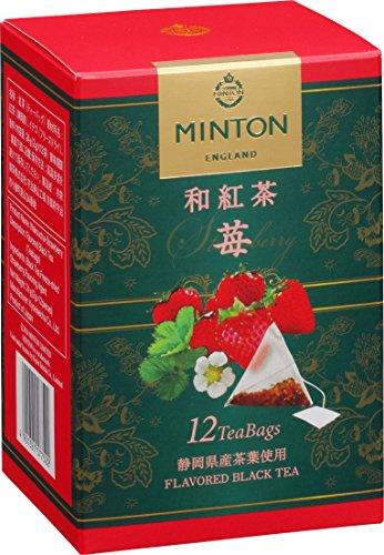 MINTON 和紅茶ティーバッグ 苺 2g×12P