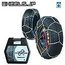 wheels(ホイールズ) タイヤチェーン 亀甲型 ジャッキアップ不要 16mm 215/70R16 (215/70/16 215-70-16 215/70-16) CBC-RV230-8