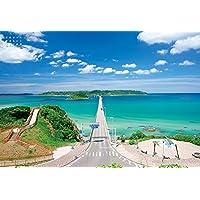 300ピース ジグソーパズル 死ぬまでに行きたい! 世界の絶景 角島(山口県)(26x38cm)
