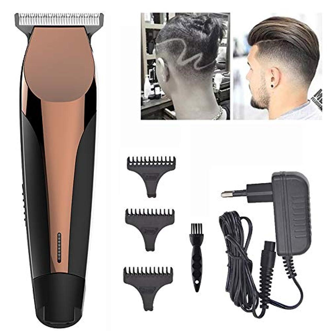 第三ずるいうめき声ヘアクリッパープロフェッショナルワイヤレスヘアトリマープロフェッショナルヘアクリッパービアードシェーバー男性と家族向けの電動ヘアクリップキット