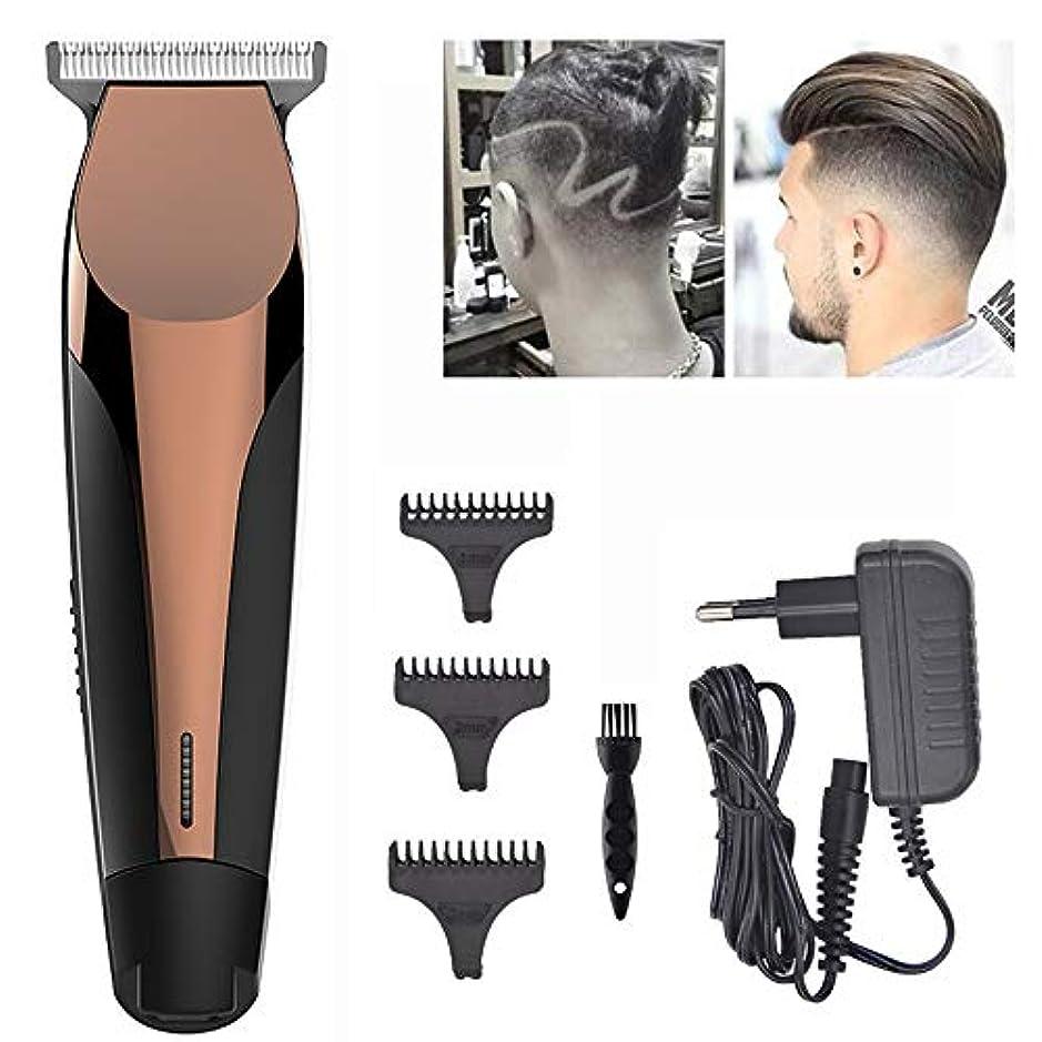 罹患率交換可能不安定なヘアクリッパープロフェッショナルワイヤレスヘアトリマープロフェッショナルヘアクリッパービアードシェーバー男性と家族向けの電動ヘアクリップキット