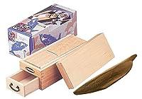 マルサン 鰹箱 王座 鰹削り器 1個 鹿児島県産 枯本節 雄節約300g 1本 セット 日本の味 ギフト