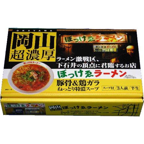 アイランド食品 箱入岡山ラーメンぼっけゑ 3食入り