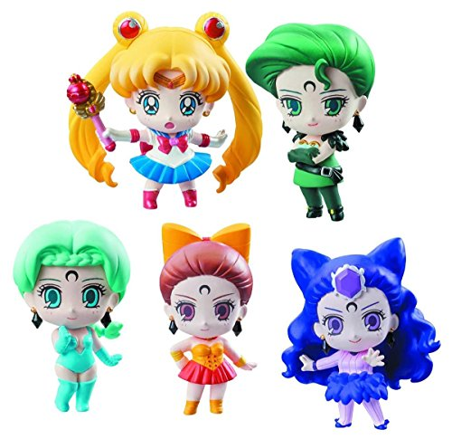 Details About Pretty Soldier Sailor Moon Petit Chara Ayakashi Vs Sailor Moon Deluxe Set