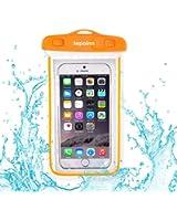 (テポインー)Tepoinn 防水携帯ケース アウトドア潜水 温泉 釣り お風呂 水泳 砂浜等最適な防水袋 スマホケース・カバー 救助用ネックストラップ付属 iPhone 6 Plus/ Samsung Galaxy/Nexus/Sonyなど全機種対応