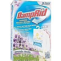 DampRid FG83LV Hanging Moisture Absorber Lavender Vanilla 3-Pack 【Creative Arts】 [並行輸入品]