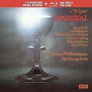 Wagner: Parsifal (4CD+BLU-RAY)