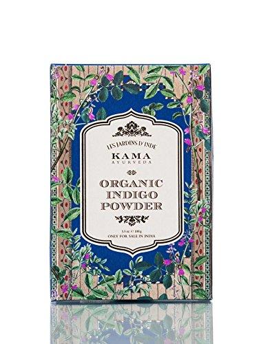 KAMA AYURVEDA オーガニックインディゴパウダー 藍 Organic Inidigo Powder 100g