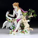 マイセン 人形 フィギュア 神話 レダと白鳥 1750年 ケンドラー