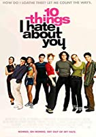 10 Things I Hate About You Film Series Movie Poster Print Size (30cm x 43cm / 12 Inches x 17 Inches) N4