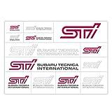 SUBARU/スバル STI【転写ステッカー】STSG14100200