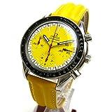 [オメガ]OMEGA 腕時計 3510 スピードマスター オート シューマッハ イエロー文字盤 純正バンド レア メンズ 中古
