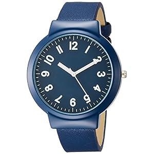 [フィールドワーク]Fieldwork 腕時計 ファッションウォッチ ウィフ アナログ 革ベルト ネイビー FSC125-5