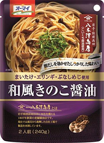 オーマイ 和風きのこ醤油 袋240g