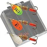 MELIPメタル釣りルアーMinnow Poper釣り餌タックルCrankbait Assorted魚フック10 Pac 6.7 CM 7.3 G