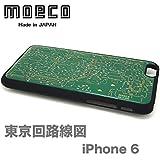 モエコ・moeco 東京回路線図 iPhone 6 / 6s ケース 緑 TOKYO iphone6 CASE G