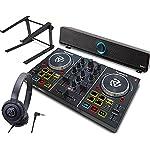 DJスタートセット Party Mix + Soundbar + ATH-S100 + LPSTAND (DJコントローラー + スピーカー + ヘッドホン + PCスタンド)