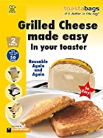 2 x Toastabags - Grilled Cheese Made Easy in Your Toaster. Up to 100 Times by Toastabags