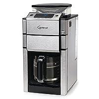 Capresso 487.05 Team Pro Plus Glass Carafe Coffee Maker, Silver by Capresso