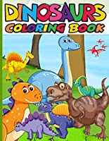 Dinosaur coloring book: Dover Coloring Books for Children, Fantastic dinosaur coloring book for Kids Ages 2-5