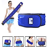 Vinteky Electric Vibrating Slimming Belt Massager Weight Loss Belt Vibration Burning Fat Lose Weight Shake Belt Waist Trainer, Massage Waist Exerciser Rejection Fat Waist Massager