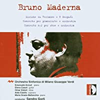Maderna: Conc for Piano & Orch